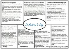 St Andrews Day EYFS medium term plan Traditional Tales, Traditional Stories, Nursery Activities, Preschool Activities, Preschool Transitions, All About Me Topic, Calendar Time, Teachers Aide, School Plan