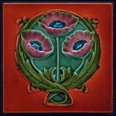 authentic fauxhemian — walzerjahrhundert: Art Nouveau Majolica Ceramic...