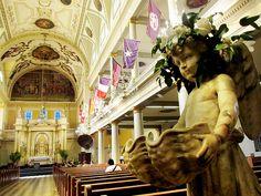 En güzel dekorasyon paylaşımları için Kadinika.com #kadinika #dekorasyon #decoration #woman #women St. Louis Cathedral Interior New Orleans