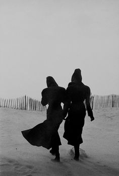 Tatiana Patitz and Linda Spierrings in Azzedine Alaïa Ensembles.        Photographed by Peter Lindbergh, 1986 : Fashion, Topics | The Red List