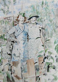 Wartime Garden, 2013, watercolour, ink, pencil on paper, 14.8 x 21 cm