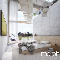 Tribünen +2 | Wien | ® morph architekturvisualisierung Architecture, Ideas