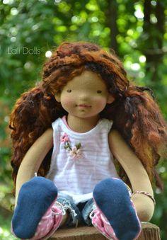 Tutorial de la peluca de la muñeca  ** No hay reembolsos por compras de patrón. Nota: este es un patrón pdf solamente y no incluye materiales. Se trata