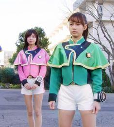 Hero Girl, Kamen Rider, Power Rangers, All Star, Harajuku, Marvel, Lady, Asian, Stars