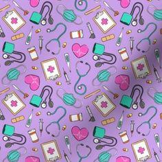 Nurse Party, Arrow Decor, Good Notes, Creative Business, Custom Fabric, Cricut Design, Spoonflower, Purple, Pink