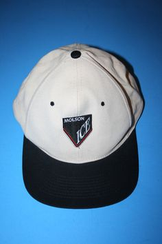 pretty nice fb735 1e22a Molson Ice Vintage White Snapback Baseball Cap Hat - Danny Brown Bruiser  Brigade  fashion  clothing  shoes  accessories  mensaccessories  hats (ebay  link)