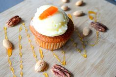 One carrot cupcake a day keeps the... ehh: well, it makes you happy!