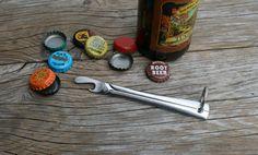 Upcycled Stainless Steel Knife Bottle Opener by JaredKramerStudios, $15.00