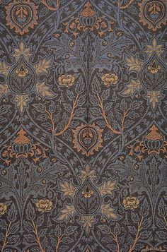 William Morris ispahan 1888 by Design Decoration Craft, via Flickr P.s. simple quest for everyone) Why did Bill die?
