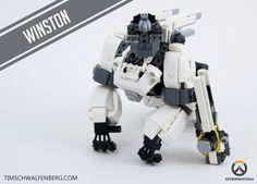 LEGO Overwatch Winston