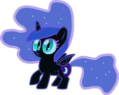 Nightmare Moon as a filly! X3