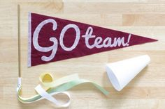 Vintage Style Pennant  by Hands Occupied | Project | Home Decor / #Decorative | #Kollabora