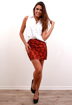 Saia Rendada Cores by Innocence Fashion, via Flickr