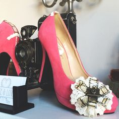 Smile for the camera.  Custom shoes/ vintage shoes/ personalised shoes