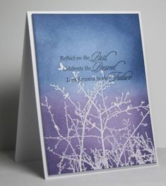 reflect by rosigrld - Cards and Paper Crafts at Splitcoaststampers