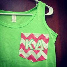 Really cute pocket tank, for when I fulfill my dream of being in a sorority <3