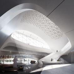 Galeria - Zaha Hadid se inspira nas dunas do deserto para projetar a nova sede da Bee'ah - 3