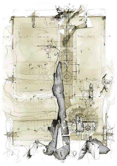 Drawings of Dan Slavinsky