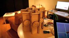 Kinetic Pavilion [iPad, Processing, Scripts]