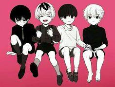 Aww He's so cute,no matter what he looks like Tokyo Ghoul Tokyo Ghoul Arima, Chibi Tokyo Ghoul, Ken Tokyo Ghoul, Manga Anime, Anime Chibi, Anime Art, Kaneki Chibi, My Little Pony, Juuzou Suzuya