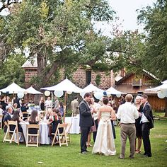 Wedding at Planet Bluegrass in Colorado