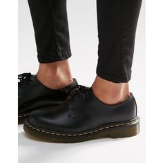 Dr Martens 1461 3-Eye Gibson Flat Shoes