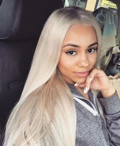 Shop our online store for Brown hair wigs for women.Brown Wig Lace Frontal Hair Lime Green Lace Front From Our Wigs Shops,Buy The Wig Now With Big Discount. Frontal Hairstyles, Wig Hairstyles, Straight Hairstyles, Pretty Hairstyles, Blonde Hair Black Girls, Ash Blonde Hair, Platinum Blonde, Red Hair, Big Chop