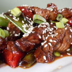 Kung Pao Chicken, Chicken Wings, Low Carb Recipes, Beef, Ethnic Recipes, Food, Slow Cooking, Pasta, Drinks