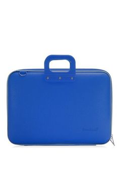 Laptoptassen : laptoptas 17 inch kobalt blauw Bombata MAXI