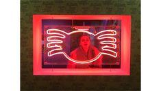 @katgordesign museum, girl, lights