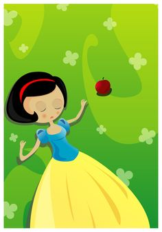 Snow White: The Forbidden Fruit by ysellyra