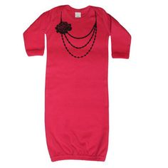 Black necklace infant gown.. Not of fan of these nighties but this is cute!