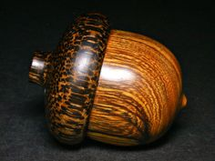 LV1048  Desert Ironwood & Black Palm Hand Turned Wooden by vplcud, $75.00