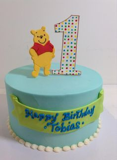 Winnie the Pooh, Birthday cake, Sugarnomics Cake Studio Guam