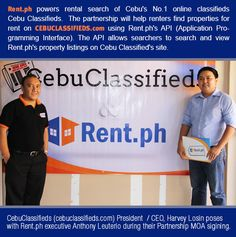 Cebu Classifieds Partnered With Rent.ph   Rent.ph   Media Center