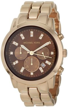 women's watches: Gold watches for women Michael Kors Women's MK5415 Showstopper Classic Chronograph Rose Gold Watch