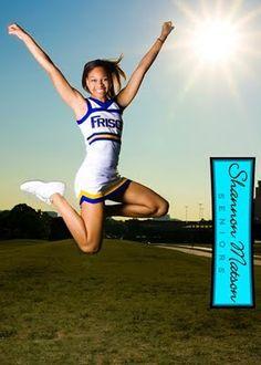 Cheerleader - Senior Portrait