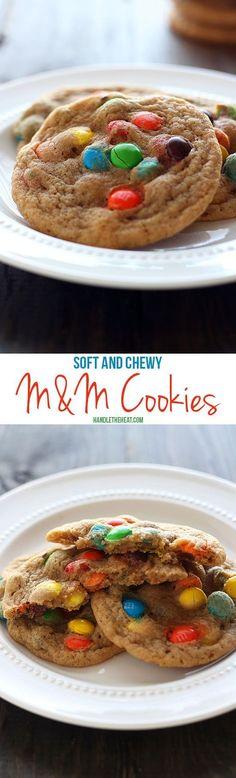 M&M Cookies   Handle the Heat