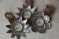 Christmas recycling crafts and incredible creations - All About Decoration Tin Can Art, Tin Art, Recycled Crafts Kids, Crafts For Kids, Diy Crafts, Aluminum Can Crafts, Metal Crafts, Soda Can Crafts, Holiday Crafts