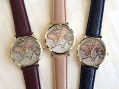 World Map Watch. I want this