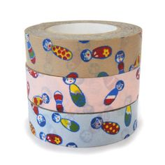 カラフルおしゃれなマスキングテープ(3個セット)|雑貨・ステーショナリー|アウトレットセール|【タイル通販】ボウクス・タイルマーケット