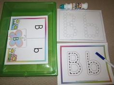 Rockabye Butterfly: Letter B Workboxes