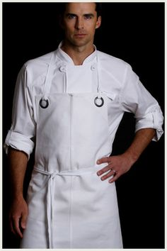 Functional ✔️ Fit ✔️ Fashion Forward ✔️ Solving Insufficient chef wear problems one Utility Chic design at a time Shop Shannon Reed Designer Chef Aprons Now! Custom Aprons for Men & Women Hotel Uniform, Restaurant Uniforms, Pizzeria, Custom Aprons, Leather Apron, Aprons For Men, Chef Apron, Uniform Design, Apron Designs