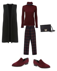 """""""Untitled #467"""" by aayushis ❤ liked on Polyvore featuring Marc Fisher LTD, Mint Velvet, MSGM, SUNO New York and Jimmy Choo"""