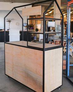 Possible idea for a fair display Kiosk Design, Cafe Design, Booth Design, Retail Design, Store Design, Signage Design, Corporate Design, Design Design, Design Ideas