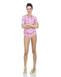 Cynthia Rowley - Print Rashguard | Surf & Swim