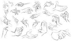 Study - Milt Kahl - Hands 3 by Tashy497.deviantart.com on @deviantART