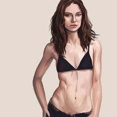 Painting practice - Keira! Unfinished. #keiraknightley #keira #painting #digital #art #illustration