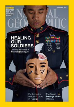 Powerful Photos Depict Veterans Who Use Art Therapy To Heal- from the February 2015 cover story of National Geographic Magazine. A look at PTSD. Art Therapy Projects, Art Therapy Activities, Therapy Ideas, Music Therapy, Play Therapy, Creative Arts Therapy, Traumatic Brain Injury, Expressive Art, Occupational Therapy