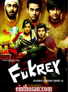 Fukrey (2013) Hindi Movie Online in Ultra HD - Einthusan 2013 BLURAY ULTRA HD ENGLISH SUBTITLE